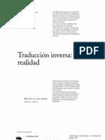 Traducción inversa, una realidad