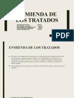 ENMIENDA DE LOS TRATADOS (1)