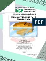 FALLAS-GEOLÓGICAS