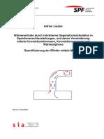 Messungen-Waermeverluste durch rohrinterne Gengenstromzirkulation-A. Lauber