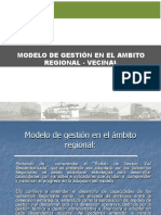 Sesión 2D Modelo de gestión en el ambito regional local