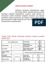 Hidrolik sistemlerde kullanılan standart semboller Murat Koru