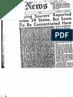 UFO declassifed FBI Files Part 4