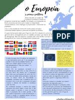 União Europeia, Desafios Sociais e Políticos