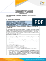 Guía de Actividades y Rúbrica de Evaluación - Unidad 2 - Paso 3 - Diagnóstico Contextual