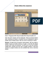 Visual Basic Notes(Devdas Sir)