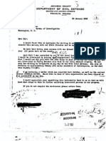 UFO declassifed FBI Files Part 12