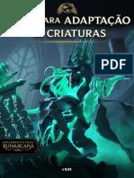 Guia de Adaptação de Criaturas 0.91