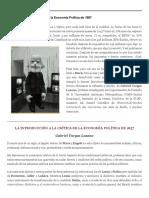 La Introducción a la crítica de la Economía Política de 1857 | Marx desde Cero