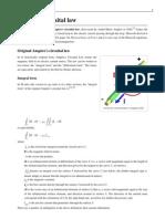 Ampère's circuital law