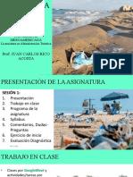SOCIOLOGÍA DE LA EMPRESA Presentación de asignatura PRIMER SESIÓN 1