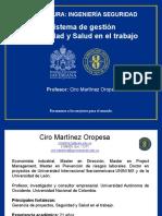 CLASE 1-SISTEMA DE GESTION SEG Y SALUD EN EL TRABAJO