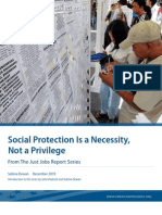 Social Protection Is a Necessity, Not a Privilege