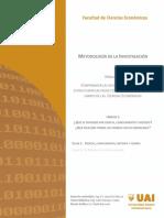 MODI_U1_C1_Ciencia_conocimiento y método