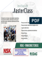 MasterClass Montaje de Rodamientos