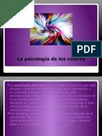 La psicología de los colores sara