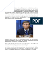 ABOUT BILL GATES