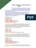 Desastres en Galicia