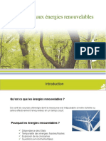 exposé énergies renouvelables