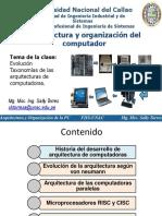 (2) Clase1_EvolucionPC_Arquitecturas de Computadoras