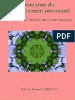 Chroniques du développement personnel_ 102 articles et 97 exercices pour vo