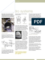 Micro hydro systems