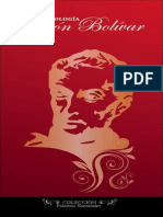 Antologia de Simon Bolivar