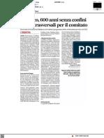 Federico, 600 ani senza confini. Celebrazioni trasversali per il comitato - Il Corriere Adriatico del 26 settembre 2021