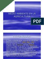 Medio Ambiente en La Agricultura
