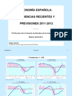 Funcas. Economía española. Previsiones 2011_2012 (Comisión Estudios 29.03.11)