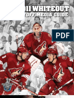 2011 Phoenix Coyotes Playoff Media Guide