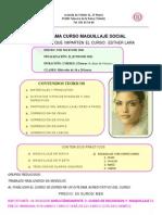 Programa  curso de Maquillaje Social