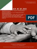 Ley N°21.351