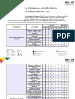 ANOSR - Modalitatea de Desfășurare a Activităților Didactice 2021-2022