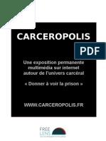 Carcéropolis, projet de Julien Villalard