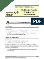 CNT 04 - Os Direitos Sociais, Políticos e a Nacionalidade