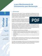 Guia Para Monitoramento de Reflorestamentos Para Restauração