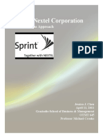 Sprint Nextel Corporation - Socially, Evironmentally, Ethically Responsible Business Practice