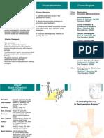 ORNAP 2nd Management Seminar Flyer