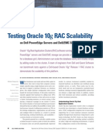 Testing Oracle 10g Rac Scalability
