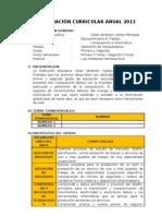 PROGRAMACIÓN CURRICULAR ANUAL_PRIMERO-SEGUNDO