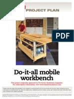 Woodworking Workbench
