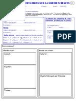carnet observation parc doubs pages 3 et 4