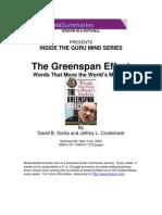 alan greenspan - inside the guru mind