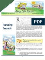 Making Life Easier-Running Errands ( Buschbacher