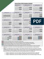EMBA Class of 2012 Summer Program Calendar
