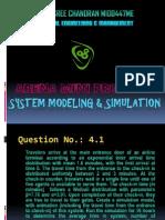 ARENA Simulation Mini Project