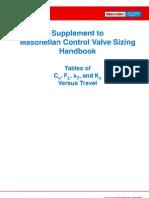 Control Valve Sizing Handbook Supplement