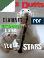 Beginner Blues For_clarinet