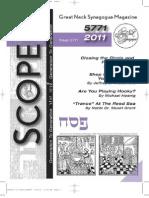Scope Passover 2011